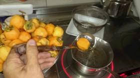 干し柿作り 2日目