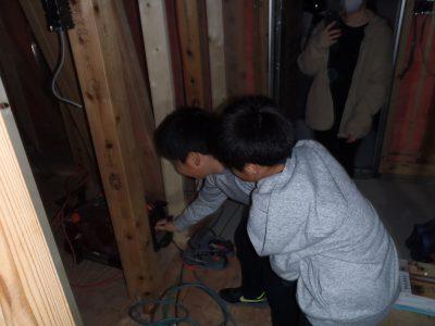 電気配線のお立合い検査