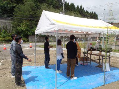 祝! 地鎮祭! in夏井町
