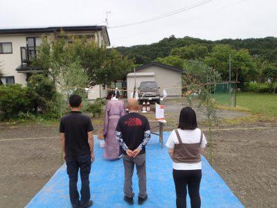 祝! 地鎮祭!! in長内町